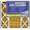 Flanders 2-Pack 25-in x 20-in x 5-in Pleated Air Filter