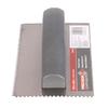 Tile Solutions 9-in Ground Steel V-Notch Ceramic Floor Trowel