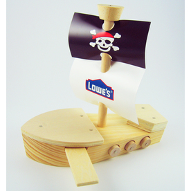 Build and Grow Kid&#039;s Beginner Build and Grow Pirate Ship Project Kit