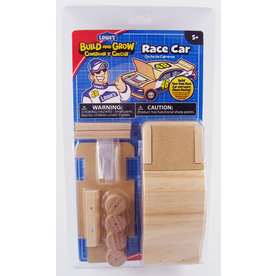 Build and Grow Kid&#039;s Beginner Build and Grow #48 Race Car Project Kit