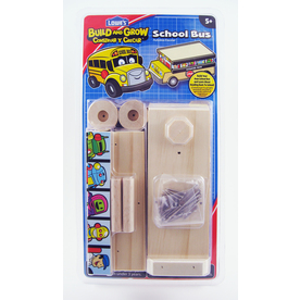 Build and Grow Kid&#039;s Beginner Build and Grow School Bus Project Kit