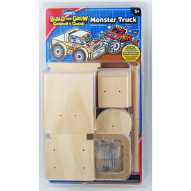 Build and Grow Kid's Beginner Build and Grow Monster Truck Project Kit