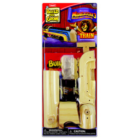 Build and Grow Kid's Beginner Build and Grow MAD3 Train Project Kit