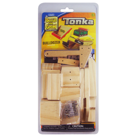 Build and Grow Kid&#039;s Beginner Build and Grow Tonka Bulldozer Project Kit