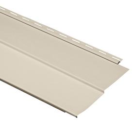 Durabuilt 20-Pack 11.23-in x 144-in Wicker Traditional Vinyl Siding Panels
