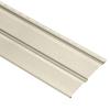 Durabuilt 20-Pack 11.032-in x 144-in Cream Dutch Lap Vinyl Siding Panels