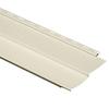 Durabuilt 24-Pack 9.34-in x 150-in Cream Traditional Vinyl Siding Panels