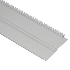 Durabuilt 20-Pack 11.34-in x 144-in Graystone Traditional Vinyl Siding Panels