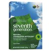 Seventh Generation Free and Clear 12-Pack 45-oz Unscented Dishwasher Detergent