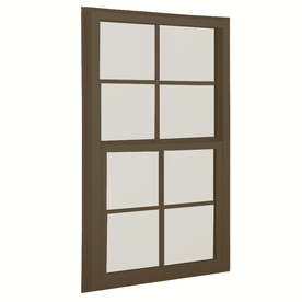 BetterBilt 36-in x 52-in 3040TX Series Aluminum Double Pane New Construction Single Hung Window
