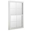 BetterBilt 36-in x 52-in 3040TX Series Aluminum Double Pane New Construction Single Hung Window
