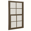 BetterBilt 24-in x 60-in 3040TX Series Aluminum Double Pane New Construction Single Hung Window