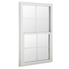 BetterBilt 24-in x 48-in 3040TX Series Aluminum Double Pane New Construction Single Hung Window