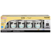 Utilitech 6-Pack 18-Watt (75W) Spiral Medium Base Soft White (2700K) CFL Bulbs ENERGY STAR