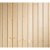 EverTrue 3/8-in x 3-5/8-ft x 8-ft Unfinished Wood Wall Panel