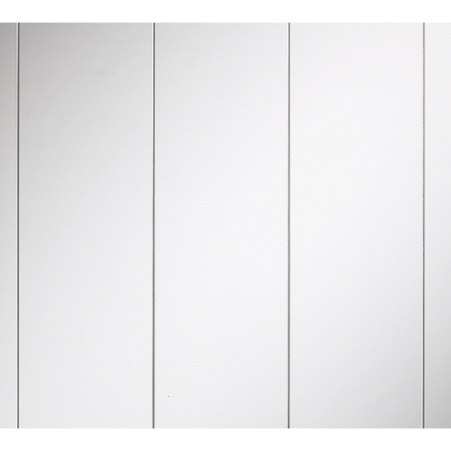 White Wall Paneling : Shop evertrue ft mdf wall panel at lowes