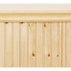 EverTrue 2-11/16-ft Stain Grade Pine Edge and Center Bead Wainscot