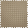 Perfection Floor Tile 20-1/2-in x 20-1/2-in Beige Raised Coin Garage Flooring Tile