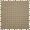 Perfection Floor Tile 8-Piece 20.5-in x 20.5-in Beige Raised Coin Garage Floor Tile