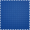 Perfection Floor Tile 8-Piece 20.5-in x 20.5-in Dark Blue Raised Coin Garage Floor Tile