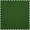 Perfection Floor Tile 20-1/2-in W x 20-1/2-in L Forest Green Raised Coin Garage Vinyl Tile