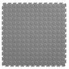 Perfection Floor Tile 20-1/2-in x 20-1/2-in Light Gray Raised Coin Garage Flooring Tile