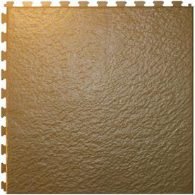 Perfection Floor Tile 6-Piece 20-in x 20-in Beige Slate Garage Floor Tile