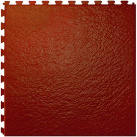 Perfection Floor Tile 6-Piece 20-in x 20-in Terracotta Slate Garage Floor Tile
