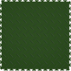Perfection Floor Tile 8-Piece 20.5-in x 20.5-in Forest Green Diamond Plate Garage Floor Tile