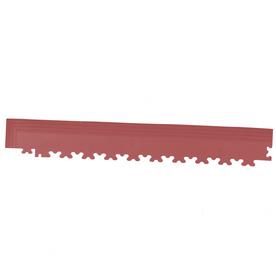 Perfection Floor Tile 4-Pack Terracotta 3-in W x 20-1/2-in L Garage Flooring Corners