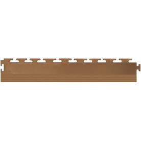 Perfection Floor Tile 4-Pack Tan 3-in W x 20-1/2-in L Garage Flooring Edges