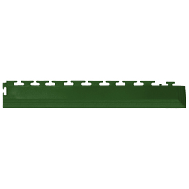 Perfection Floor Tile 4-Pack Forest Green 3-in W x 20-1/2-in L Garage Flooring Corners