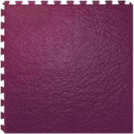 Perfection Floor Tile 20-in W x 20-in L Merlot Slate Garage Vinyl Tile