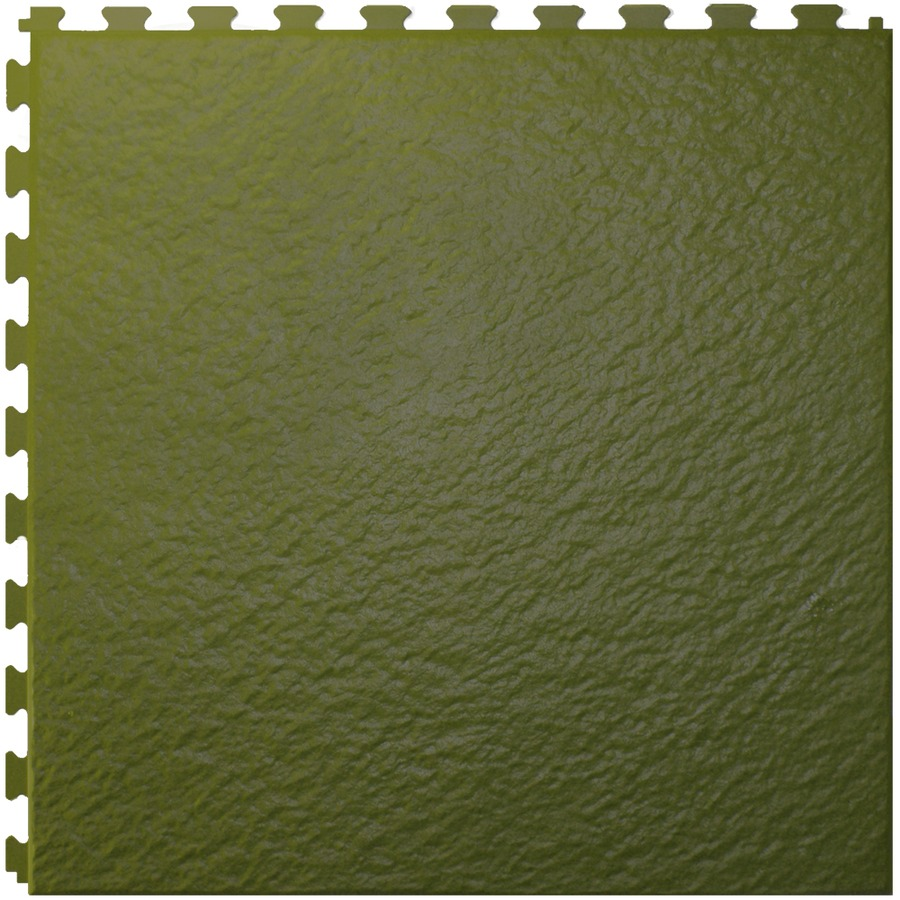 Shop Perfection Floor Tile 20 In W X 20 In L Green Slate