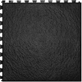 Perfection Floor Tile 6-Piece 20-in x 20-in Black Slate Garage Floor Tile
