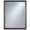 allen + roth Renovations 24-in W x 32-in H Merlot Rectangular Bathroom Mirror