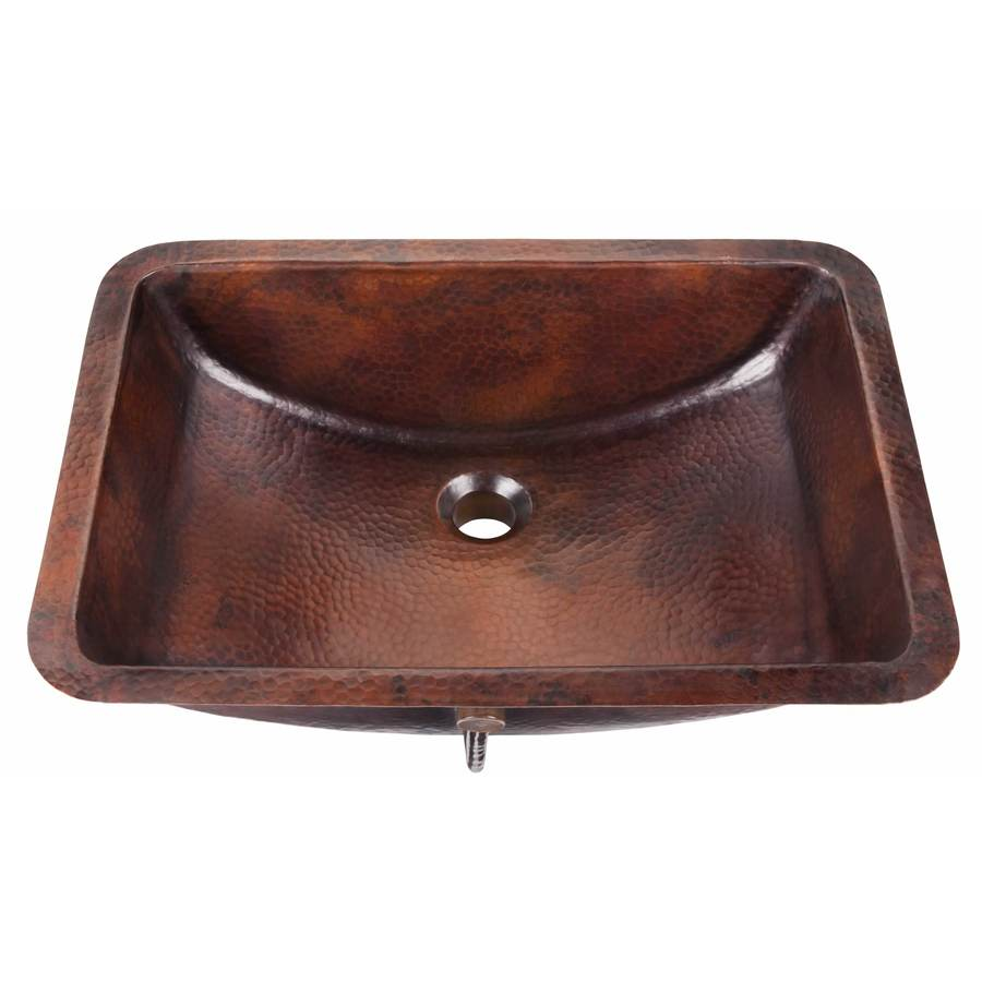 shop thompson traders solid copper copper undermount