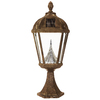 Gama Sonic Royal 20.5-in H Weathered Bronze Solar Integrated Led Complete Pier-Mounted Light