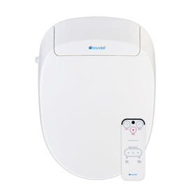 Brondell White Toilet-Mounted Bidet