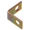 The Hillman Group 20-Pack 1-in Zinc and Yellow Dichromate Corner Braces