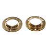 The Hillman Group 5-Pack 1-3/8-in Brass Circular Shelving Hardware