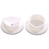 The Hillman Group 5-Pack 1-3/8-in White Circular Shelving Hardware
