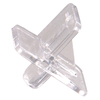 The Hillman Group 40-Pack 0.25-in Clear Square Shelving Hardware
