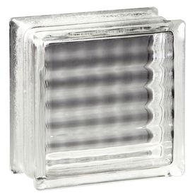 Shop pittsburgh corning argus pemiere 12 pack glass blocks for Glass blocks for crafts lowes