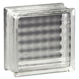 Shop pittsburgh corning argus premiere 8 pack glass blocks for Glass blocks for crafts lowes