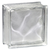 Pittsburgh Corning Decora Lx Blocks Pemiere 8-Pack Glass Blocks (Common: 8-in H x 8-in W x 4-in D; Actual: 7.75-in H x 7.75-in W x 3.87-in D)
