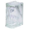 Pittsburgh Corning 4-Pack 6-in x 8-in x 4-in Bullnose Glass Block