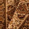 Orian Rugs Medallion Kashan 47-in x 65-in Rectangular Brown/Tan Floral Olefin/Polypropylene Area Rug