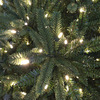 Holiday Living 7.5-ft Pine Pre-Lit Artificial Christmas Tree with 600-Count White LED Lights