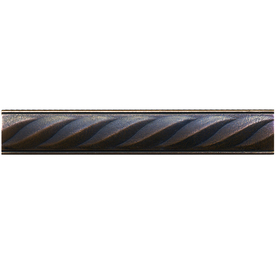 Somerset Collection 10-Pack Somerset Oil-Rubbed Bronze Metal Tile Liner (Common: 1-in x 6-in; Actual: 1-in x 5.94-in)